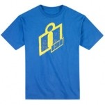 Icon Double Up T-Shirt Blue (Closeout)