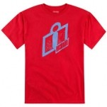 Icon Double Up T-Shirt Red (Closeout)