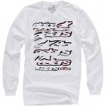 Alpinestars Knock Out Long-Sleeve T-Shirt White (Closeout)