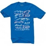 Alpinestars Knock Out T-Shirt Blue (Closeout)