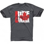 Alpinestars Ride Canada T-Shirt Charcoal