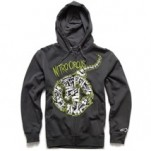 Alpinestars Busted Bones Zip Fleece Hoody Charcoal (Closeout)
