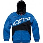 Alpinestars Men's Capital Zip Hoody Blue
