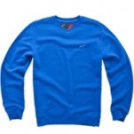 Alpinestars Men's Pedro V-Neck Fleece Blue (Closeout)