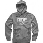 Alpinestars Ride Pullover Hoodie Heather-Gray