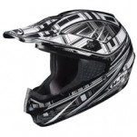 HJC CS-MX Stagger MC-5 Helmet Black/Silver/White