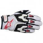 Alpinestars SMX-3 Air Gloves White/Black/Red