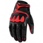 Icon Overlord Resistance Gloves Red