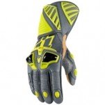Icon Hypersport Long Gloves Hi-Viz-Yellow