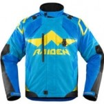 Icon Men's Raiden DKR Jacket Blue