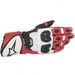 Alpinestars GP Plus R Leather Gloves Black/White/Red
