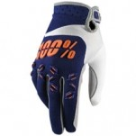 100% Airmatic Gloves Blue/Orange/White