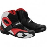 Alpinestars Men's SMX-1 Boots Black/White/Red