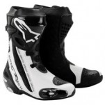 Alpinestars Men's Supertech R Boots Black/White