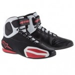 Alpinestars Men's Faster Shoes Black/White/Red (Closeout)