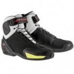 Alpinestars SP-1 Vented Shoes Vented-Black/White/Red/Fellow-Fluo