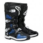 Alpinestars Men's Tech 3 Boots Black/Blue-Swirls