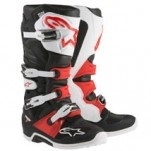 Alpinestars Men's Tech 7 Boots Black/White/Red