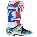 Alpinestars Tech 10 Graphics Kit Blue/Cyan/Yellow
