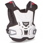 Fly Racing Junior Body Vest Lite White