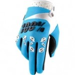 100% Airmatic Gloves Blue/White/Black