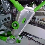 Works Connection Frame Guards for KX100 98-13