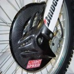 Lightspeed Front Disc Guard for WR250R 08-14