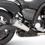 Remus HyperCone Slip-on Exhaust for Vmax 09-11