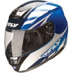 Fly Racing Paradigm Helmet Classic Blue/White