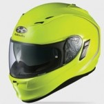 Kabuto Kamui Solid Helmet Flash-Yellow