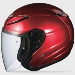 Kabuto Avand II Solid Helmet Shiny-Red