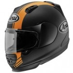 Arai Base Defiant Graphics Helmet Orange