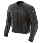 Joe Rocket Men's Phoenix 5.0 Textile Mesh Jacket Tall-Size-Black/Black
