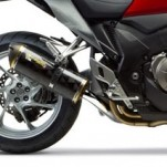Two Brothers M5 Slip-On Exhaust for VFR1200F 10-13 (Closeout)