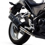 Two Brothers M2 Black Full Exhaust for CBR250R 11-13