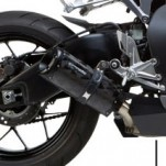 Two Brothers M2 Black Slip-On Exhaust for CBR1000RR 12-13