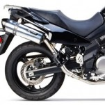 Two Brothers M2 Black Full Exhaust for DL650 V-Strom 04-12