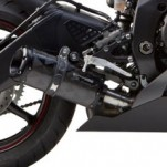 Two Brothers M2 Black Slip-On Exhaust for YZF-R6 06-16