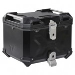 SW Motech Trax Adventure 38-Liter Alu-Box Topcase Black