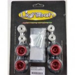 LighTech Wheel Axle Sliders for Tuono V4 11-14