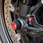 LighTech Front Axle Sliders for Diavel 11-14
