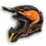 Airoh Aviator 2.1 Linear Bi-Color Helmet Orange