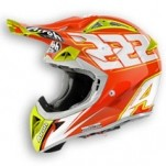 Airoh Aviator 2.1 222 Replica Helmet Orange/Yellow
