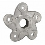 CNC 5 Hole Titanium Rear Sprocket Flange for Ducati
