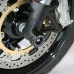 R&G Front Axle Sliders/Protectors for Speed Triple 05-10