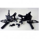 LighTech Adjustable Track System Rearsets (Fixed Footpegs) for ZX10R/ABS 11-13