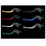 Pazzo Folding Levers for ZX636 03-04