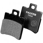 Galfer Semi Metallic Rear Right Brake Pads for SV650/S 03-10