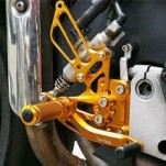 Sato Racing Rear Sets - Reverse Shift Pattern for VFR800 02-12