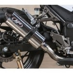 M4 Standard Mount Full Exhaust System w/ Stainless Tubing for Ninja 300 13